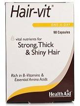 Health Aid Hair-vit capsules Review