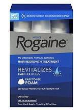 Pharmacia Men's Rogaine Unscented Foam Review