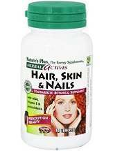 Nature's Plus Herbal Actives Hair, Skin & Nails Tablets Review