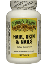 Nature's Wealth Hair, Skin & Nails Formula Vitamin Supplement Review