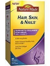 Nature Made Biotin Hair Skin and Nails Liquid Softgel Review